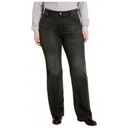 MARINA SPORT by Marina Rinaldi jeans woman regular black denim stretch art 13.5183251 IDILLIO