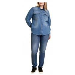 MARINA SPORT by Marina Rinaldi jeans woman stretch denim fit WONDER art 13.5183281 IDROFORO