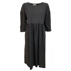 HUMILITY 1949 gray 3/4 sleeve woman dress art HA-RO-DIANE MADE IN ITALY