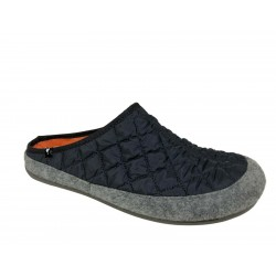 PITAS men's gray quilted slipper mod SAMY 100% polyester MADE IN SPAIN