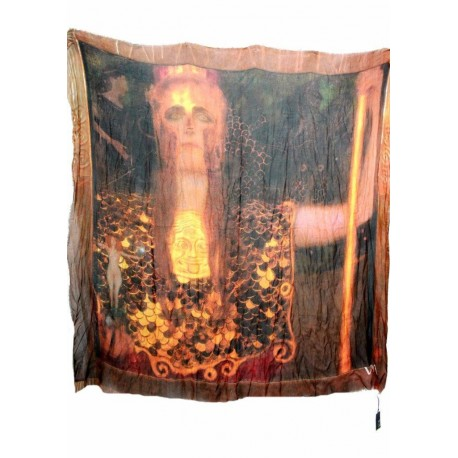 Vestilarte - Foulard Klimt Athena